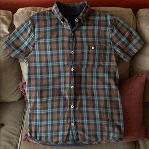 Men's hollister sz M Reversible button down shirt